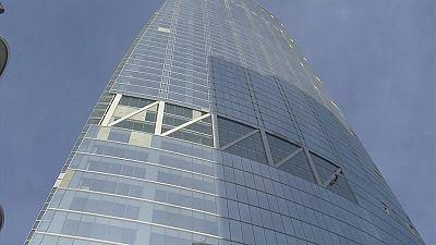 Wilshire Grand Centre skyscraper in Los Angeles set to defy earthquakes