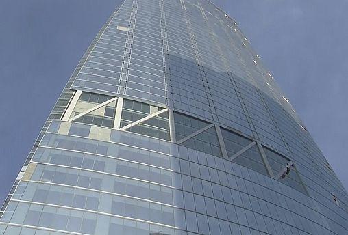 آسمان خراش ۳۳۸ متری ضد زلزله ساخته شد