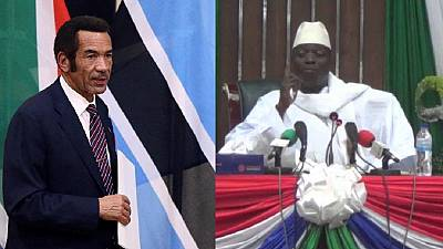 Botswana officially cuts ties with Mr Jammeh, first African country to do so