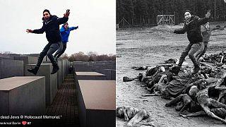 Yolocaust : selfies tout-sourire au mémorial de l'Holocauste de Berlin
