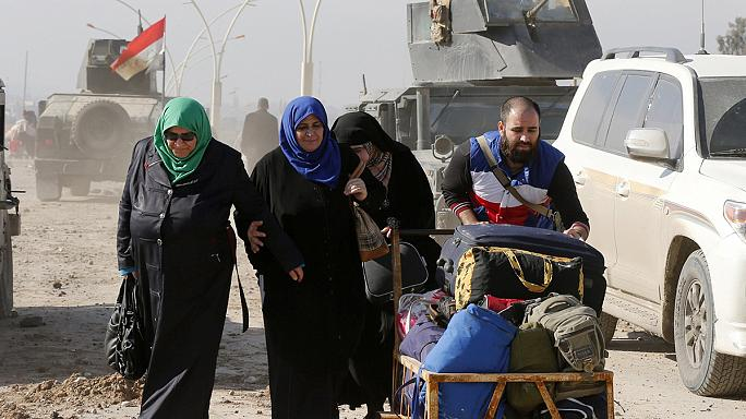 Lucky to be alive - Iraqi refugees from ISIL tell their stories