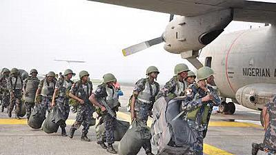 Nigeria: Another set of troops leave for the Gambia ahead of Inauguration