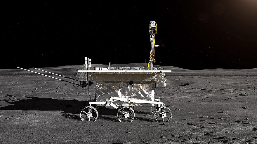 Image: Chinese lunar probe expected to land on moon in coming days