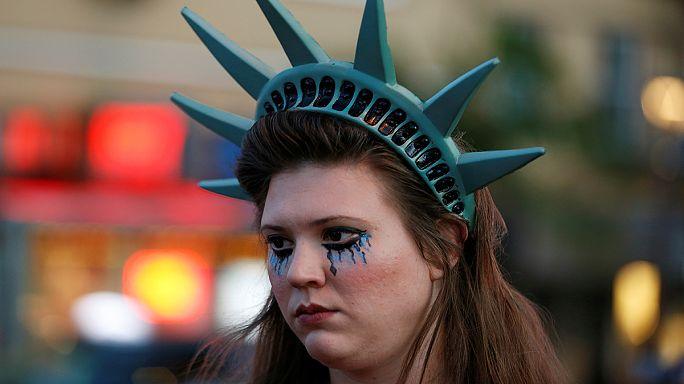 США. Трампофобы выходят на акции протеста
