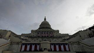 Donald Trump zur Amtseinführung in Washington eingetroffen