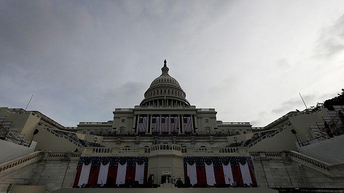 Donald Trump è arrivato a Washington per l'insediamento alla Casa Bianca