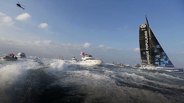 Új rekord a Vendée Globe-on
