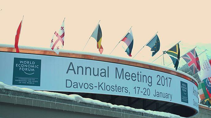 Trump is ott volt Davos-ban, bár nem ment el
