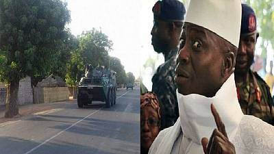 7000 ECOWAS joint troops halted for final mediation talks in The Gambia