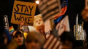 USA, proteste anti-Trump a Washington e New York