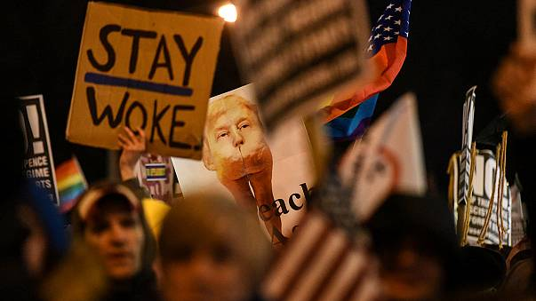 Trump karşıtları Washington ve New York sokaklarında