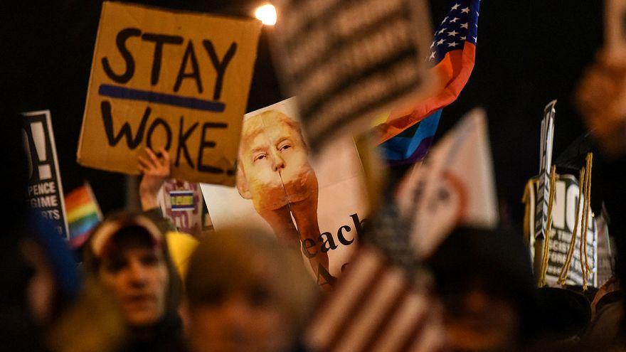 Manifestation anti-Trump à Washington et à New York