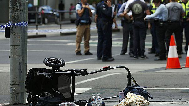 """Un vehículo atropella """"deliberadamente"""" a varias personas en el centro de Melbourne"""