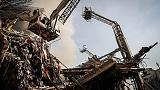 Тегеран: найдут ли выживших под завалами торгового комплекса?