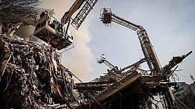 Teheran: Mindestens 20 tote Feuerwehrleute nach dramatischem Einsturz
