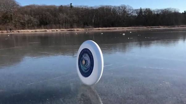 La corsa del frisbee
