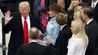 """في أول خطاب له... ترامب يتوعد بالقضاء على """" التطرف الإسلامي"""" من على وجه الأرض"""