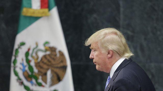 Mexicanos receosos com a chegada de Trump ao poder