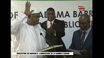 Adama Barrow sworn in as Gambian President in Dakar [no comment]