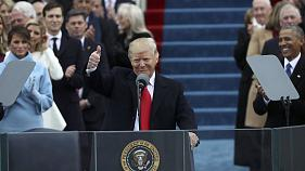 Donald Trump takes up the presidential mantle in inauguration speech