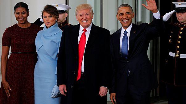O momento em que a Casa Branca mudou de mãos