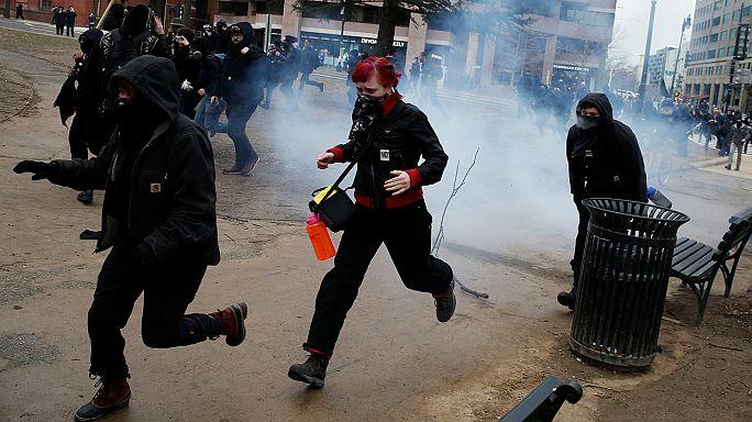 A washingtoni tüntetők is készültek az elnöki beiktatásra