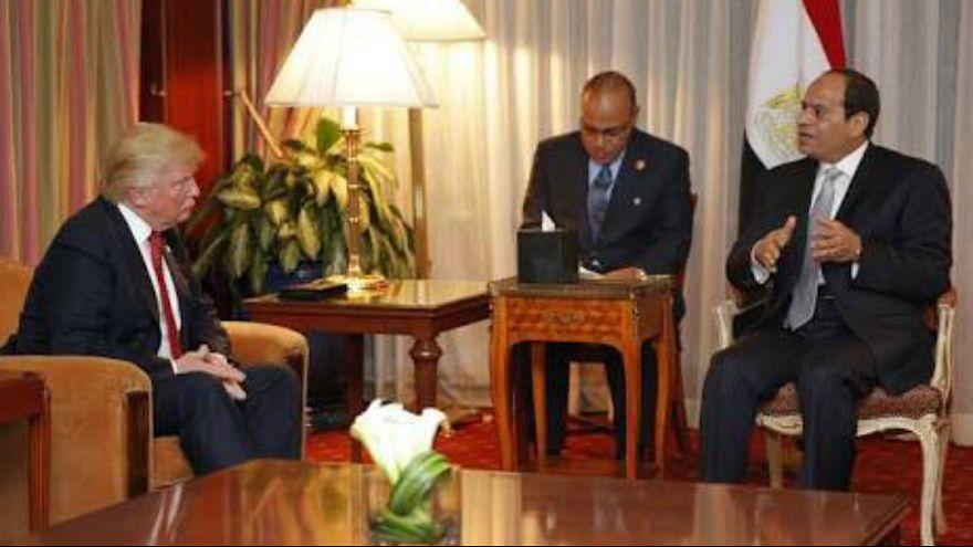 مصر آولى المهنئين عربياً بتنصيب ترامب رئيساً للولايات المتحدة