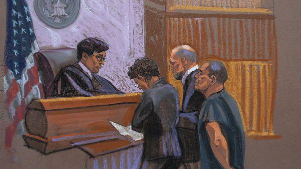 A hírhedt drogbáró nem vallotta bűnösnek magát az Egyesült Államokban