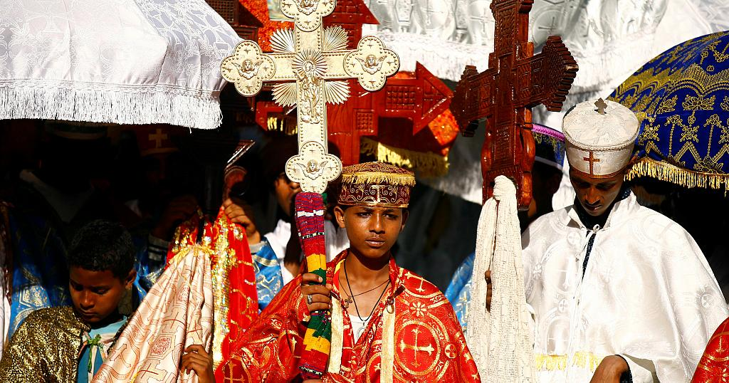 b91d183bc42 Ethiopian orthodox Christians mark the baptism of Jesus Christ ...