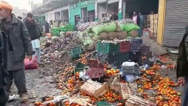 Pokolgép gyilkolt egy pakisztáni piacon