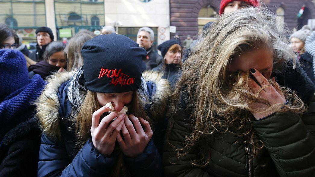 Conmoción en Hungría por el accidente de autobús registrado en Italia