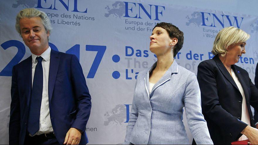 Европейские ультраправые собрались в немецком Кобленце