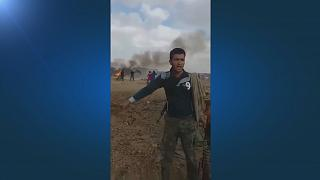 Мощный взрыв в сирийском лагере для беженцев