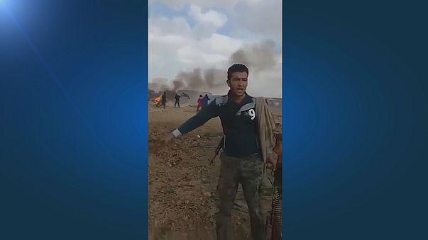Pokolgép gyilkolt egy menekülttáborban a jordániai határnál