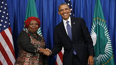 AU chief: Obama made Africa proud as POTUS, welcomes Trump