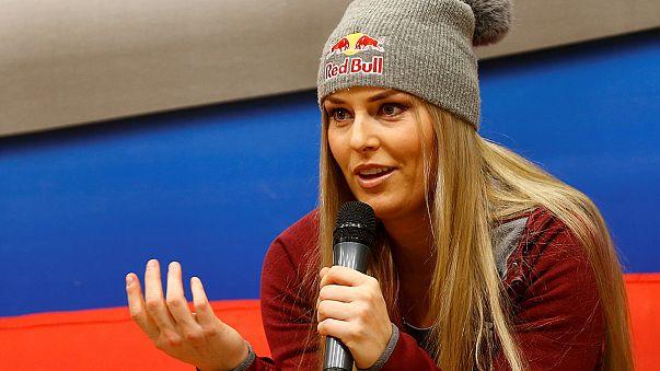 Lindsey Vonn comprova estatuto de rainha do esqui alpino