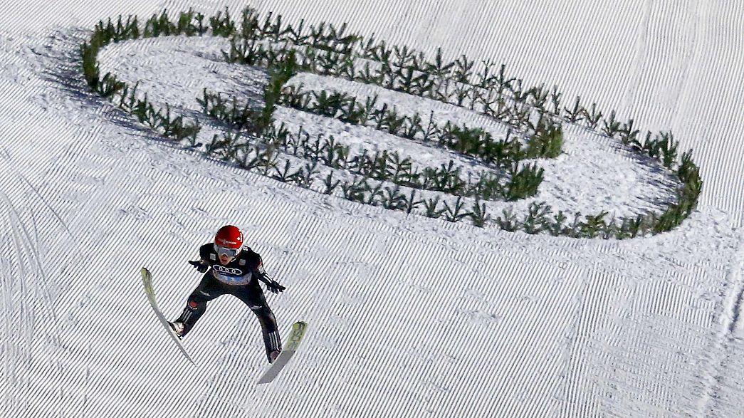 Saut à skis : l'Allemagne fête un 11ème succès collectif