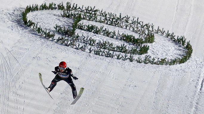 Saltos de esqui: Alemanha conquista Zakopane