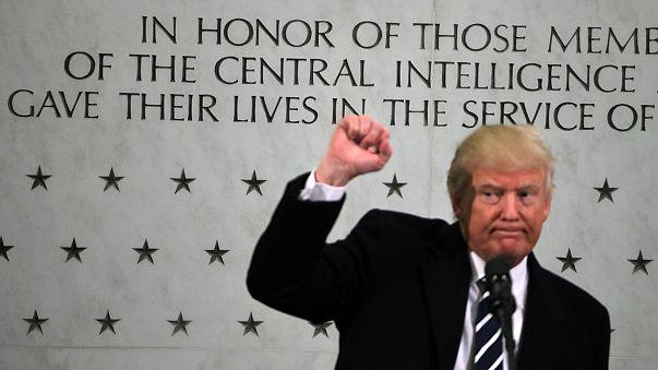 Langley: Trump umgarnt CIA-Belegschaft