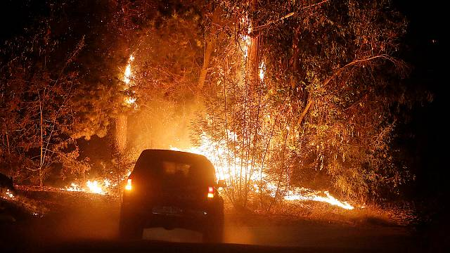 Wildfires threaten areas in Chile under state of emergency