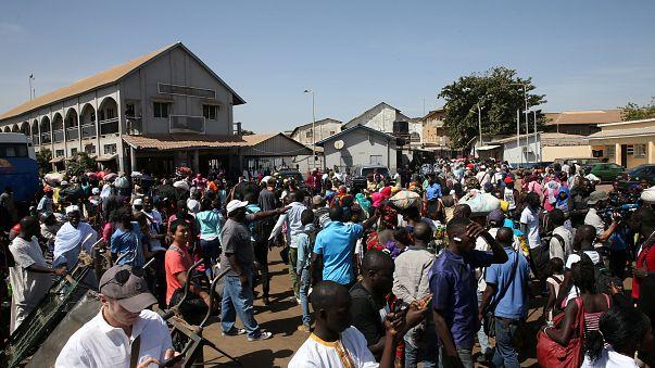 گامبیا، یک روز پس از خروج یحیی جامع از کشور