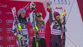 Gut continues super-G dominance in Garmisch-Partenkirchen