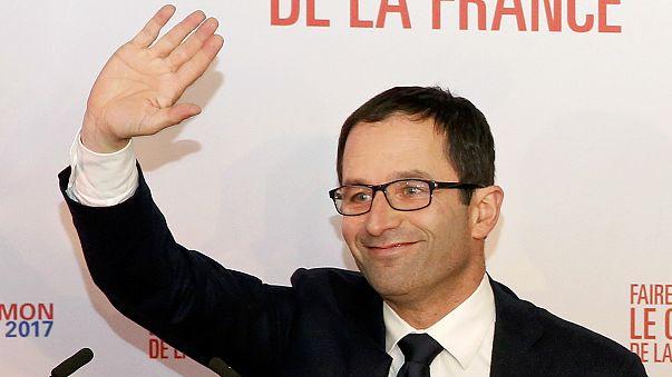 Fransa'da Sosyalistlerin ön seçiminde ilk turun galipleri Benoît Hamon ve Manuel Valls