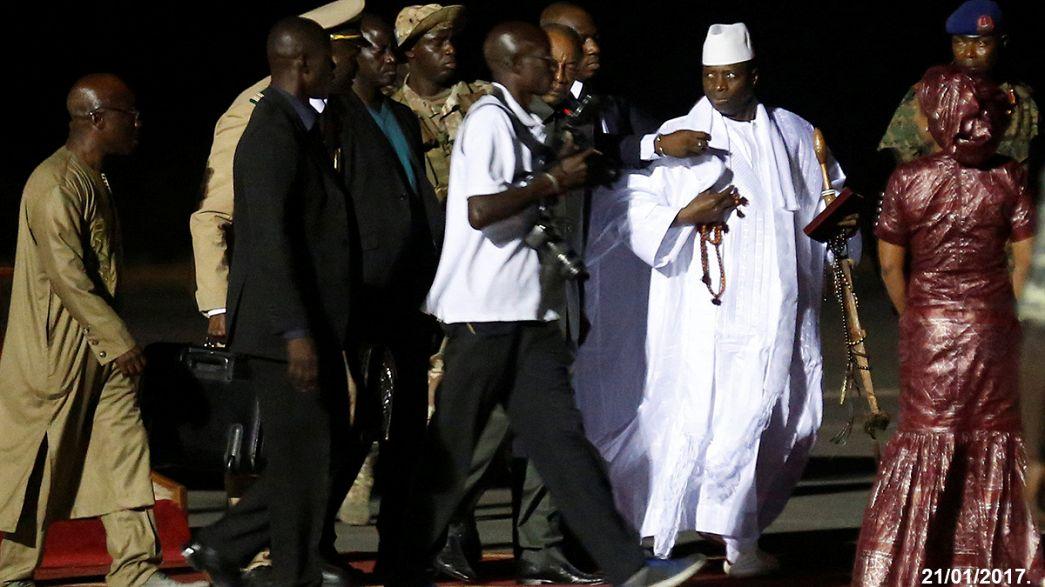 L'ex-président gambien accusé d'avoir vidé les caisses de l'État avant son départ en exil
