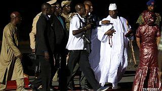 Gambiya eski Devlet Başkanı Jammeh devletin 11 milyon Dolar'ını yanında götürmüş