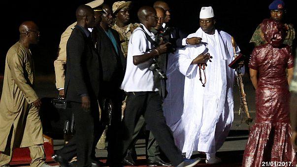 الرئيس الغامبي السابق يشتبه به باختلاس 11 مليون دولارا