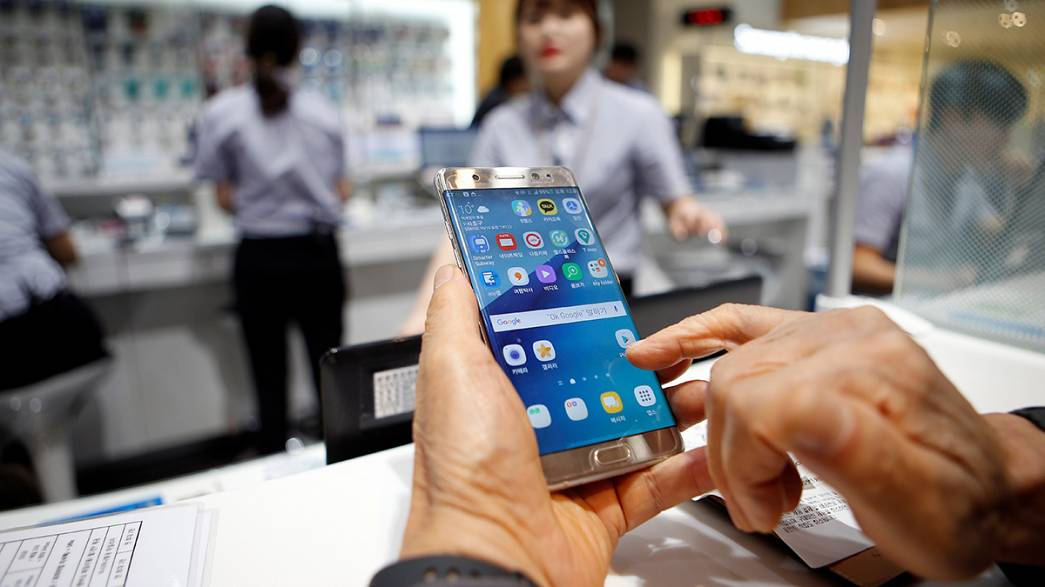 Samsung blames faulty batteries for Galaxy Note 7 fires