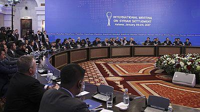 Syrie : Le Régime syrien et les rebelles négocient la paix à Astana