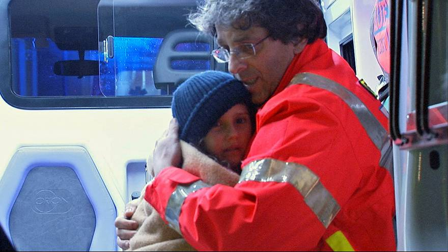 Race against time: rescuers work to save those trapped after Italian avalanche