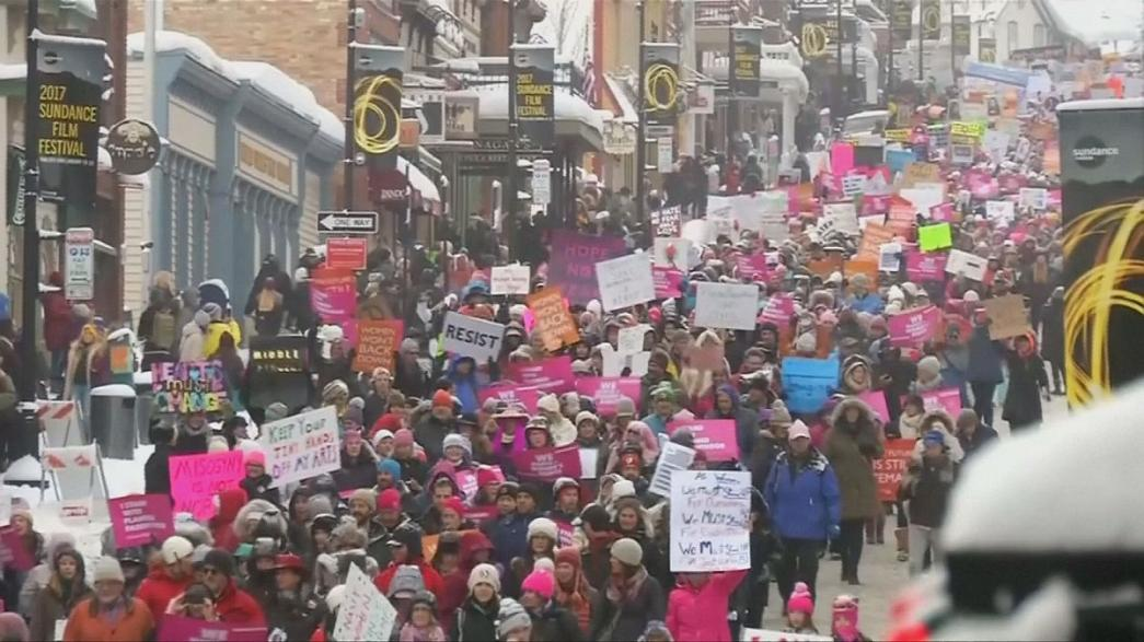 Estrellas de Sundance se unen a la Marcha de las Mujeres